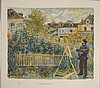 Monet Painting in the Gardens Renoir Art Print 1st Ed, Pierre-Auguste Renoir, $200