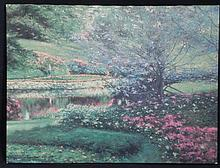 Richard Earl Thompson Signed Print Impressionist Art