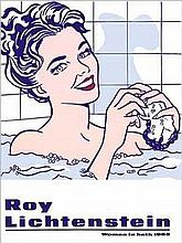 Roy Lichtenstein Woman in Bath Art Print
