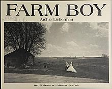 Archie Lieberman Signed Farm Boy Poster Wedding