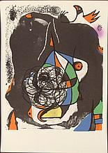 Joan Miro Revolution I Abstract Art Print