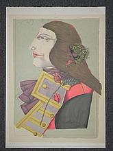 Richard Lindner Signed Final Proof Der Rosenkavalier