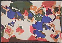 Nancy Genn Signed Artist Proof Print Modern Abstract
