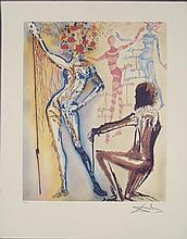 Salvador Dali Ballet of Flowers Surrealistic Art Print