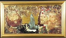 Endre Szasz Art Print The Three Kings -Framed