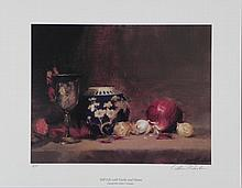 William Chambers Signed AP Art Print Garlic and Onion