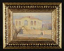 Alexander Gevorkyan Original Oil Painting -Building