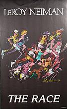 LeRoy Neiman Fine Art Poster w/ Runners -The Race