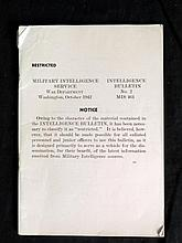 1942 MILITARY INTELLIGENCE BOOKLET-93 PGS