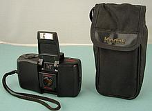 Kodak Star 935 35mm Point & Shoot Camera, Case Vintage