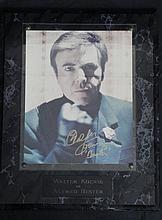 Walter Koenig Signed Photo Plaque -A. Bester Babylon 5