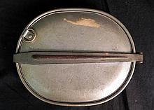 WWII Military Tin Plate