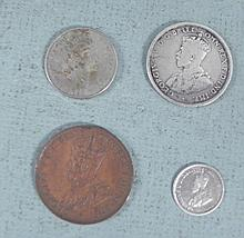 Australian and New Zealand Old Coins