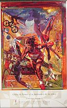 GRACE + POWER Charly Palmer 1996 Olympics Poster