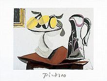 Pablo Picasso Marina Art Print Still Life with Lemon