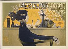 Razi La Maison Moderne French Art Nouveau Poster