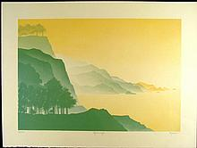 Jack Hagman Signed Landscape Art Print Beginnings