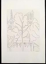 Henri Matisse Unusual Printers Proof Reverse Art Print