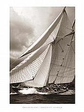 Christian Fevrier Schooner Mariette Sail Boat Print