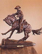 Cowboy BY Frederick Remington Vintage Recast