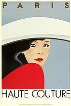 Gerard Razzia Haute Couture Rare 1983 Poster