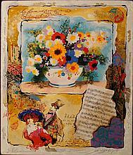 Alexander & Wissotzky Signed Art Print Happy Days