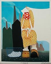 Mackenzie Thorpe 'IT'S A DRYING DAY' Lithograph