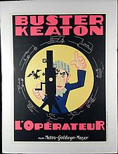 Buster Keaton L'Operateur Large French Movie Poster