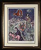 Marc Chagall Original Print Route de la Village