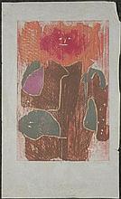 Betty Snyder Rees Original Signed Print -Diadem, 1959