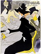 Toulouse-Lautrec Divan Japonais Litho Reeves Rag Paper