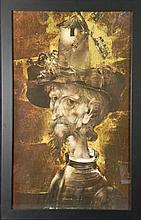 Endre Szasz Art Print Don Quixote -Framed