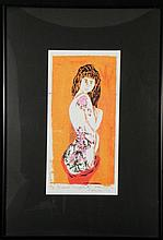 Betty Heredia Orig Print Signed Frm Personal Graffiti 2