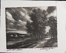 Thomas Locker Dedicated Art Print Country Landscape