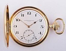 Gold pocket watch Vacheron & Constantin Geneveve