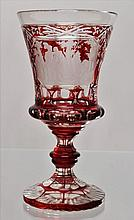 Cup decorated with engravings