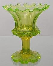 Cup from uranium glass