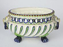 Czech bowl of Fruit - Julius Dressler