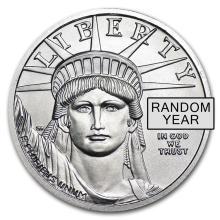 1/4 oz Platinum American Eagle (Random Year)
