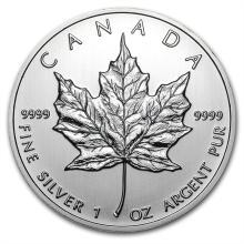 2012 1 oz Silver Canadian Maple Leaf (Brilliant Uncirculated)