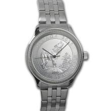 Men's 3/4 oz Wolf Watch - Stainless Steel Bracelet