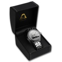 Men's Panda Watch - Stainless Steel Bracelet
