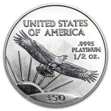 2002 1/2 oz Platinum American Eagle BU