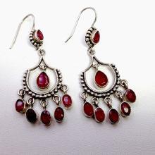 Sterling Silver .925 Vintage Dangle Earrings