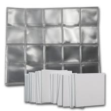 1.5 X 1.5 Soft Flips (#60) W/ paper inserts - (100 count)