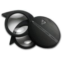 4x to 9x Power Bausch & Lomb Folding Pocket Magnifier