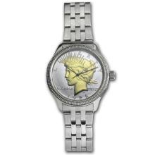 Men's Peace Dollar Watch - Stainless Steel Bracelet