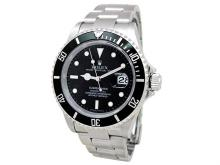 40mm Gents Rolex Stainless Steel Oyster Perpetual Submariner Watch. Black Dial. Stainless Steel Bezel. Stainless Steel Oyster Band. Style 16610.