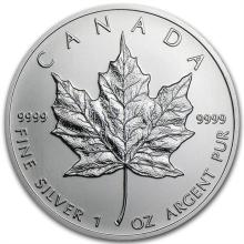 2013 1 oz Silver Canadian Maple Leaf