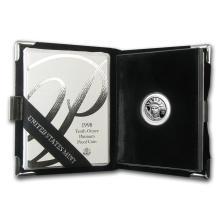 1998-W 1/10 oz Proof Platinum American Eagle (w/Box & COA)